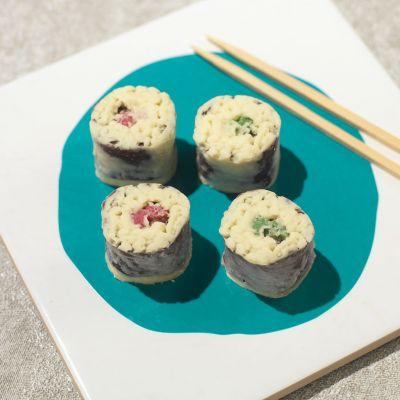 Cadeau 50 ans - Chocolats Sushi