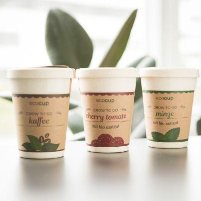 Cadeau fête des mères - Ecocup – Gobelet à Plantes