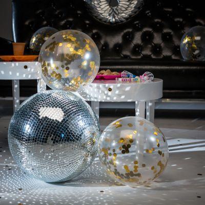 Gadgets pour festivals - Ballons avec Confettis dorés