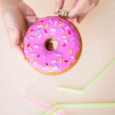 Cadeau 18 ans - Flasque Donut