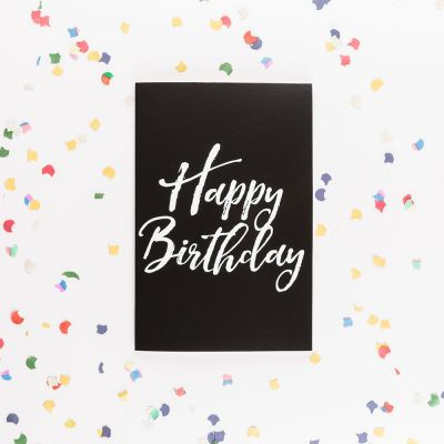 Idées cadeaux pour mettre dans le calendrier de l'avent - Carte d'anniversaire Forever