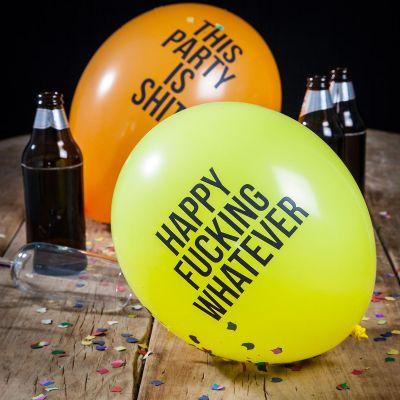 Cadeau d'Halloween - Ballons drôles et méchants - Pack de 12