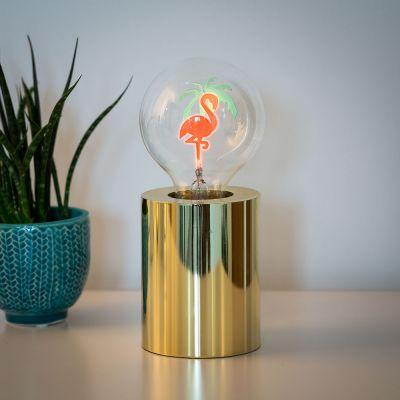 Éclairage - Ampoule Flamant