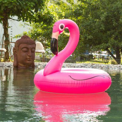 Gadgets d'été - Bouée Flamant rose