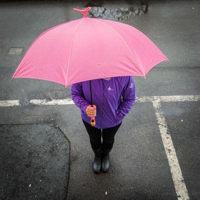 Outdoor & sport - Parapluie Flamant Rose