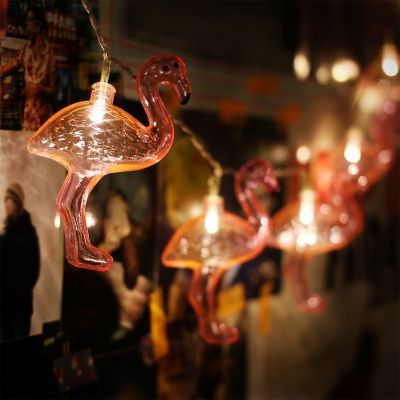 Éclairage - Guirlande lumineuse Flamant Rose