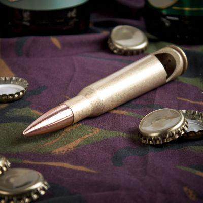 Cadeau d'Halloween - Le décapsuleur cartouche calibre 50