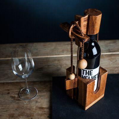 Cadeau 40 ans - Puzzle casse-tête bouteille