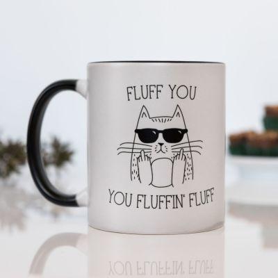 Idées cadeaux pour mettre dans le calendrier de l'avent - Tasse Thermosensible Fluff You
