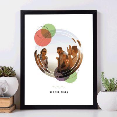 Cadeau d'adieu - Poster Photo Personnalisable