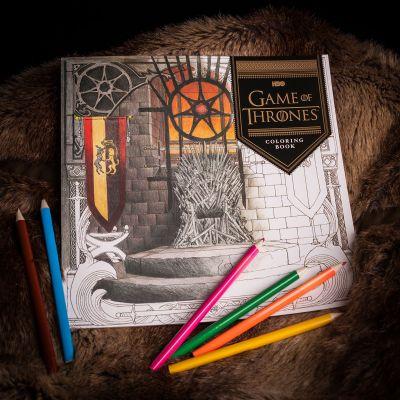 Jeux & Farces - Cahier de coloriages Game of Thrones