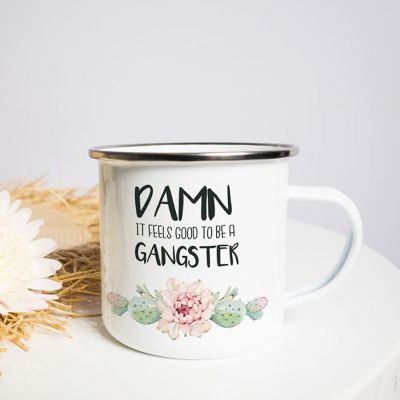 Outdoor - Tasse Métal Gangster