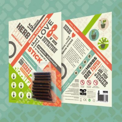 Cuisine & Barbecue - Engrais Herb Power Sticks