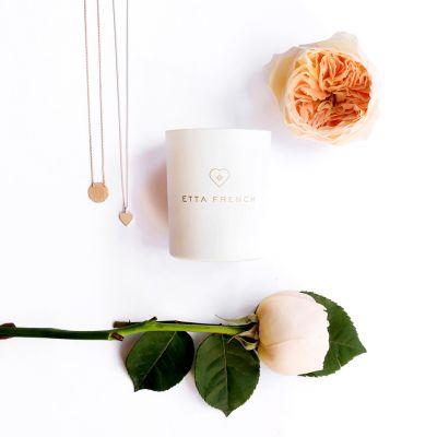 Cadeau fête des mères - Bougies parfumées avec des bijoux