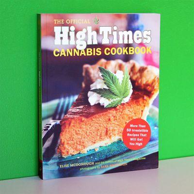Cadeau homme - High Times - Livre de cuisine pour le Cannabis
