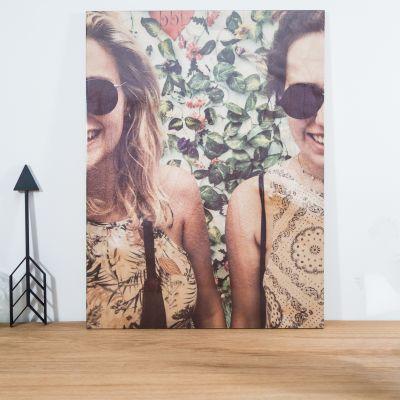 Idée cadeau femme - Photo Personnalisable sur Bois