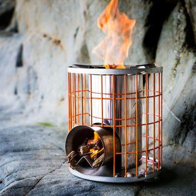 Été - Poêle à bois Horizon Camping