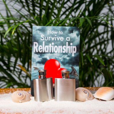 Cadeau couple - Flasques de Survie Relation