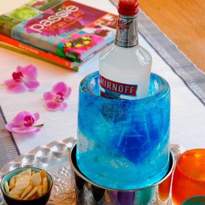 Cadeaux de Noël pour Papa - Ice Cooler – Rafraichisseur de bouteilles créatif