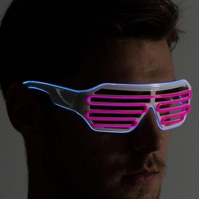 Cadeau pour son copain - Lunettes LED de Couleurs