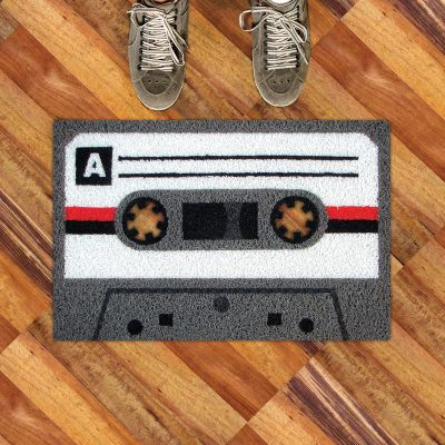 Objets Rétro & Vintage - Paillasson cassette
