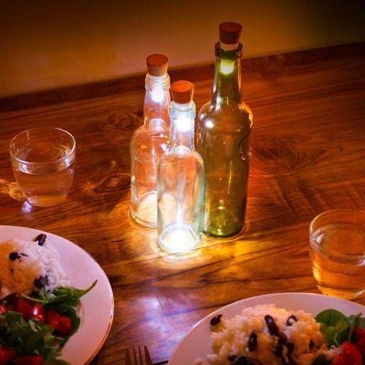 Éclairage - Lumières LED pour bouteille avec USB