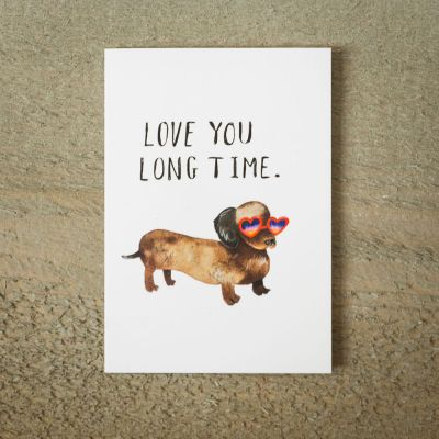 Cartes - Carte de vœux Love You Long Time