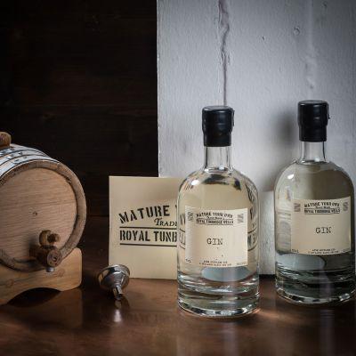 Alcool - Ensemble de maturation Gin – Avec fût en chêne