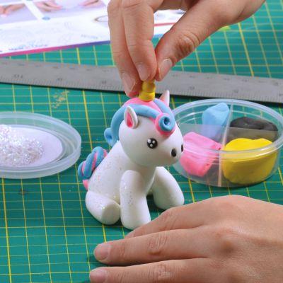 Cadeau Pâques - Pâte à modeler Licorne