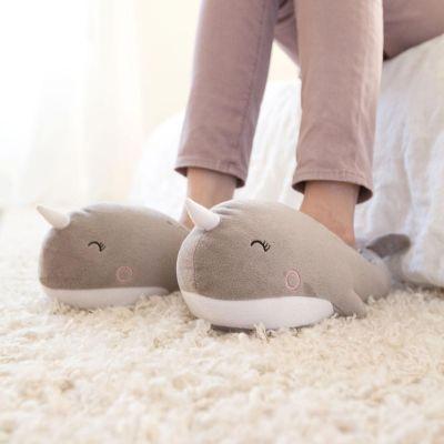 Chaussons - Pantoufles chauffantes narval – USB
