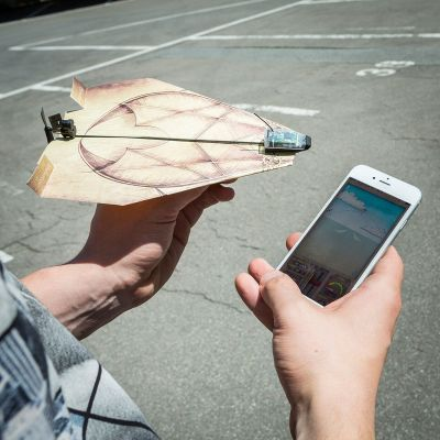 Cadeau de Noël pour homme - PowerUp 3.0 - système de téléguidage pour avion en papier