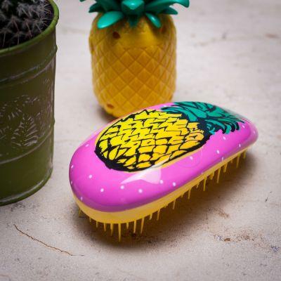 Salle de bains - Brosse à cheveux parfum Ananas