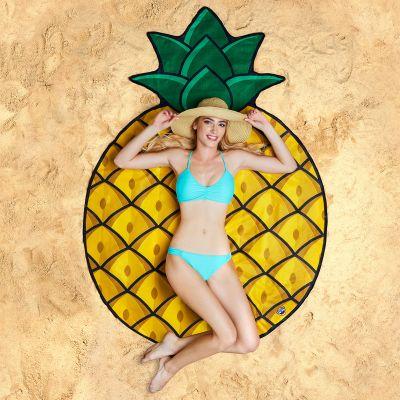 Cadeau fête des mères - Serviette de plage Ananas