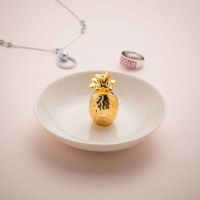 Cadeau fête des mères - Soucoupe à bijoux Ananas