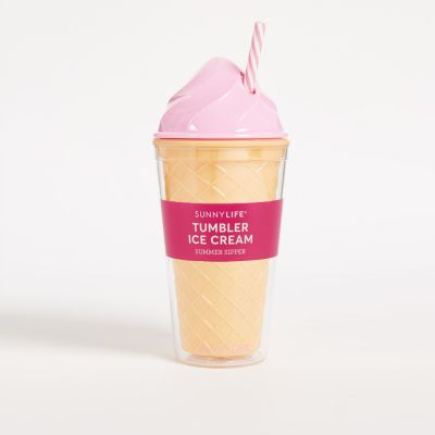 Été - Gobelet Ice Cream Rose