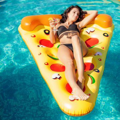 Gadgets d'été - Bouée gonflable Pizza