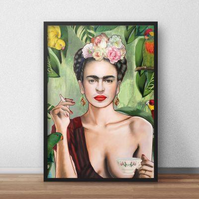 Produits exclusifs - Frida Poster par Nettsch