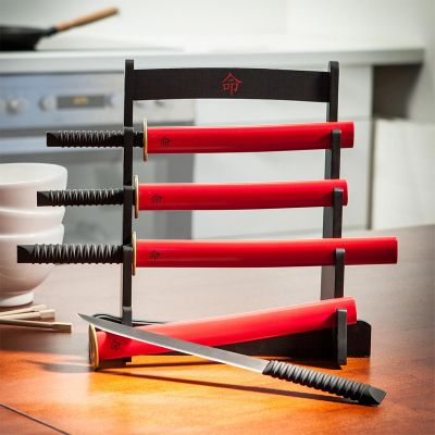 Cadeau anniversaire papa - Le kit montant couteaux de cuisine Samouraï