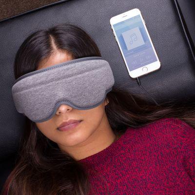 Voyages - Masque de Sommeil avec Écouteurs Intégrés