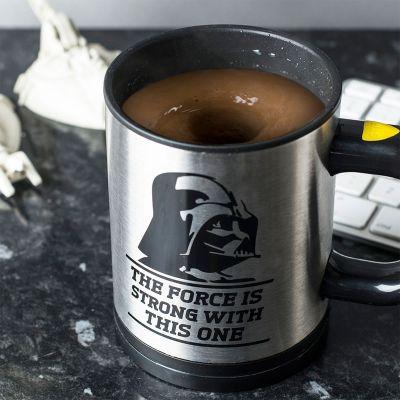 Cadeau de Noël pour homme - Tasse Star Wars auto-mélangeuse