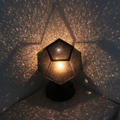 Éclairage - Projecteur d'étoiles à assembler