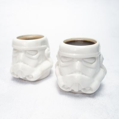 L'univers Star Wars - Set de 2 Tasses Expresso Stormtrooper