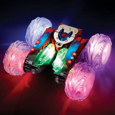 Cadeaux de Noël pour enfants - Voiture télécommandée Stunt Racer 360