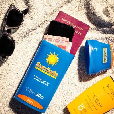Cadeau pour son copain - SunSafe – Cachette Crème Solaire