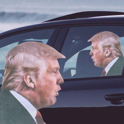 Décoration & Mobilier - Autocollant de voiture Trump