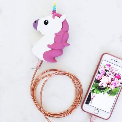 Idée cadeau femme - Chargeur pour Smartphone - Licorne