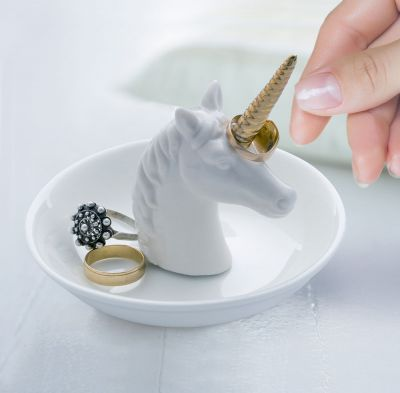 Vêtements & Accessoires - Soucoupe à bijoux Licorne