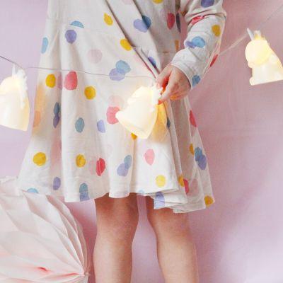 Éclairage - Guirlande Licorne