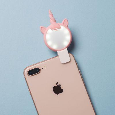 Idées cadeaux pour mettre dans le calendrier de l'avent - Lumière à Selfie Licorne