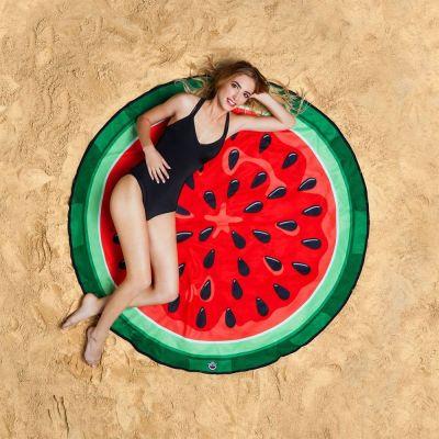 Gadgets d'été - Serviette de plage Pastèque